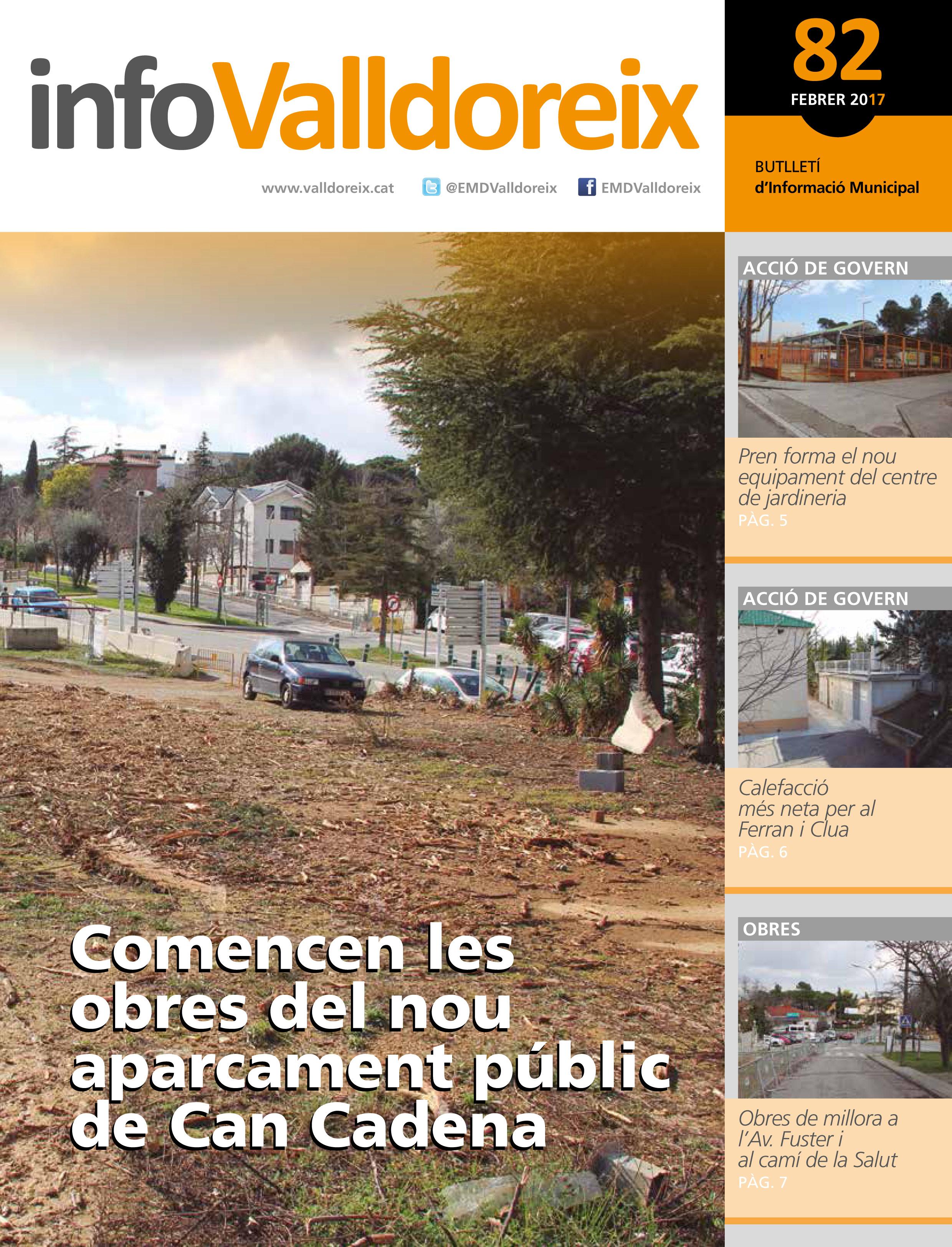 portada INFO VALLDOREIX 82