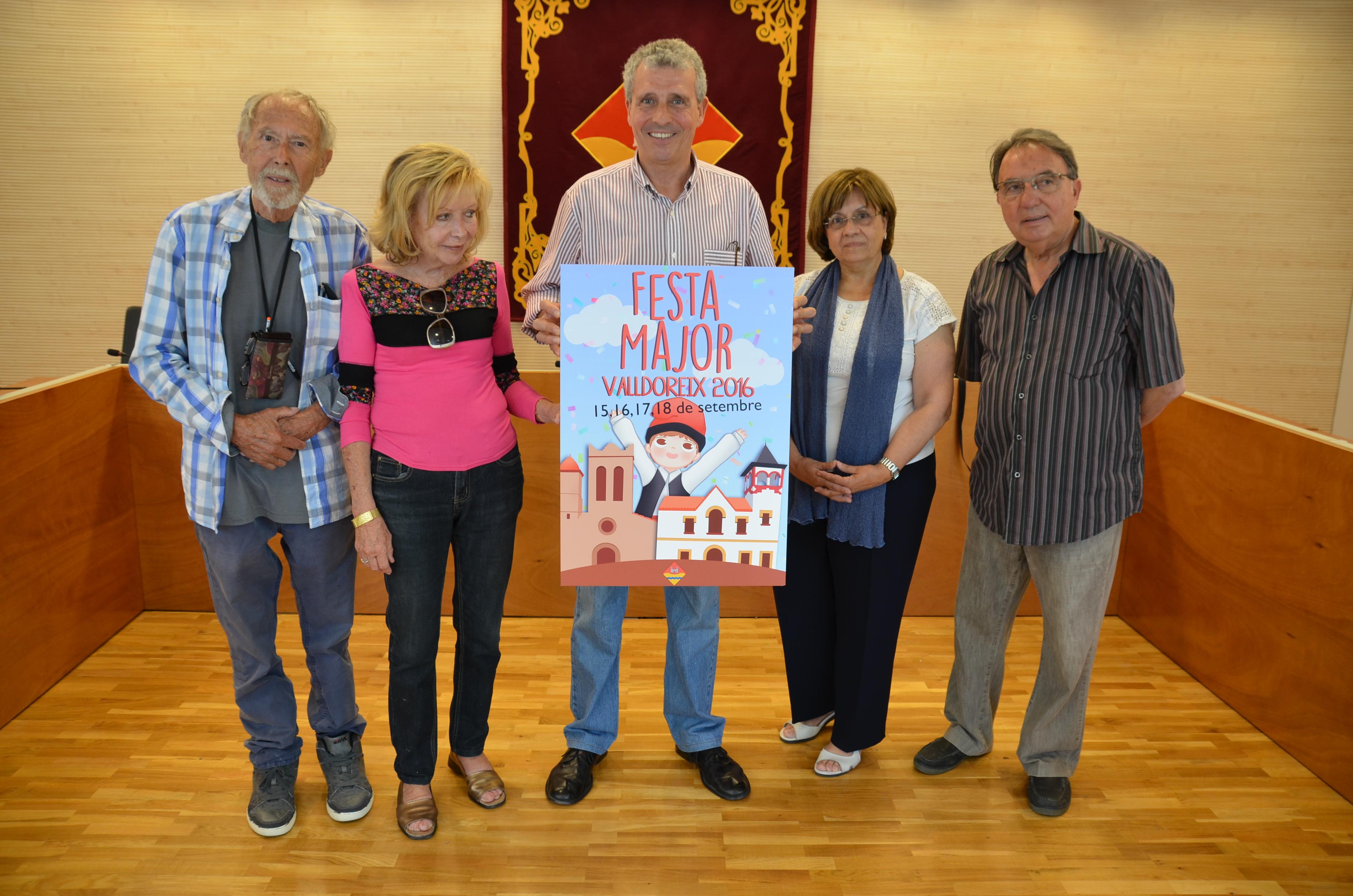 El cartell de Sònia Martínez serà el cartell anunciador de la Festa Major de Valldoreix d'enguany