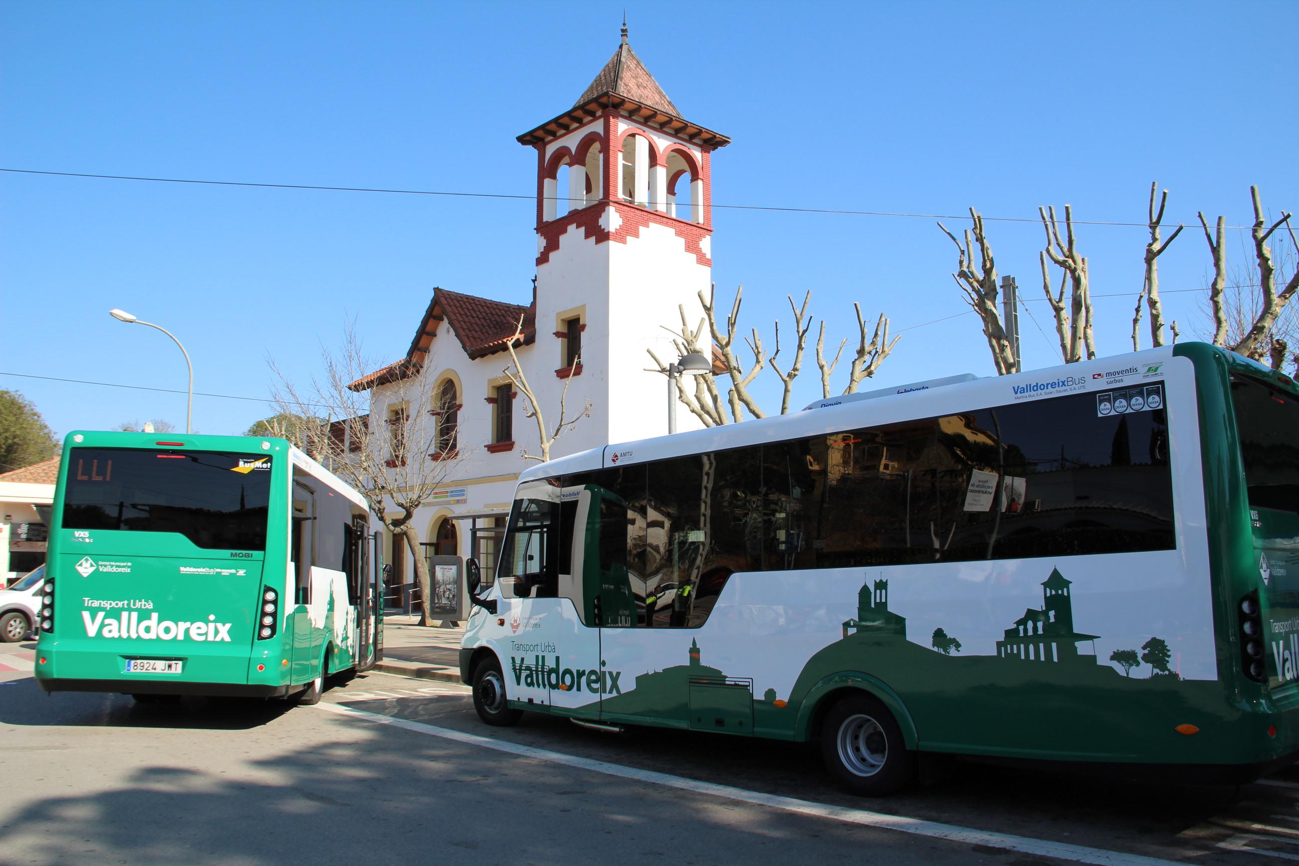 El nou bus de Valldoreix, vehicle d'exposició a la Fira Internacional de l'Autocar i l'Autobús de Madrid