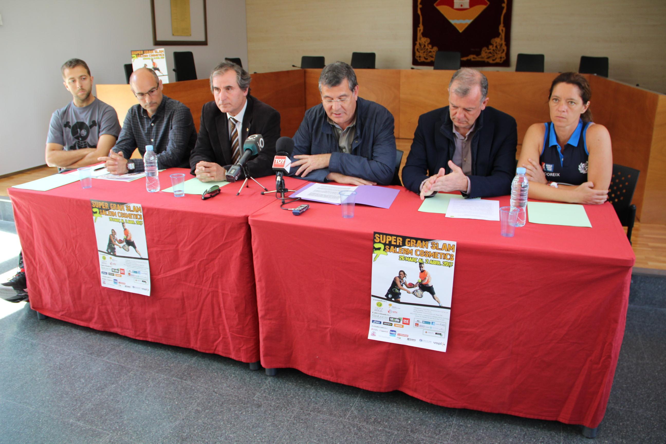 Les figures del circuit català es donen cita al 8è Súper Gran Slam de Pàdel 'Salerm Cosmètics' del CE Valldoreix