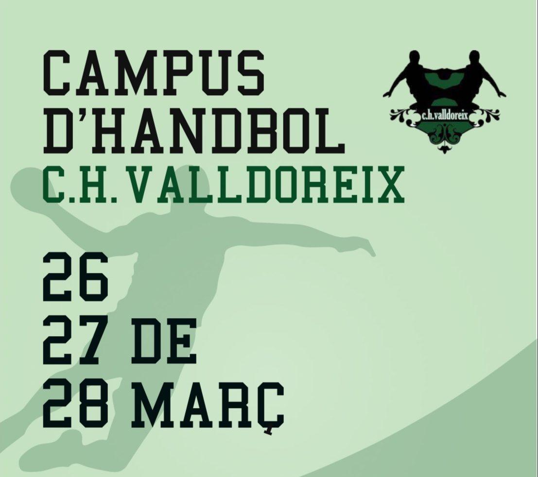 El Club Handbol Valldoreix celebra el seu 1er Campus Infantil de Setmana Santa