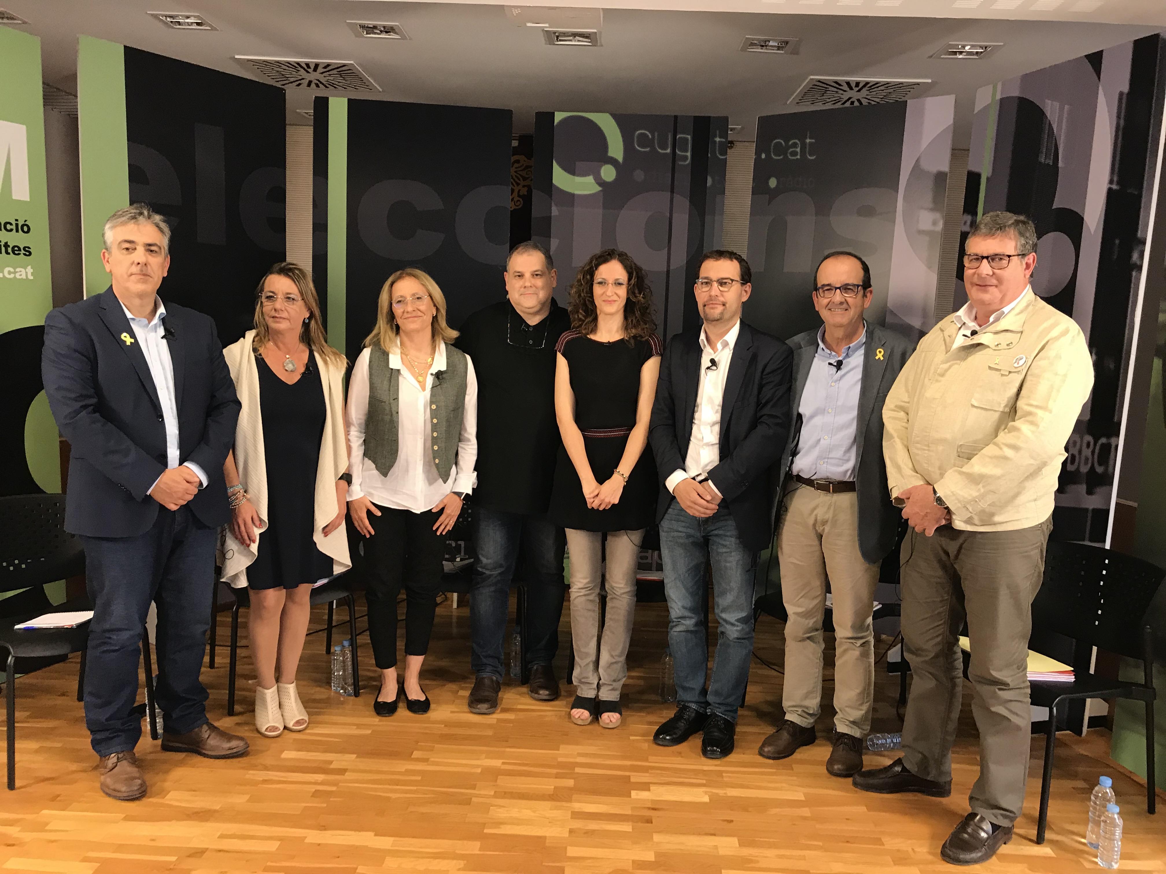 Els candidats a la presidència de l'EMD marquen perfil pròpi en el debat electoral de la Casa de la Vila