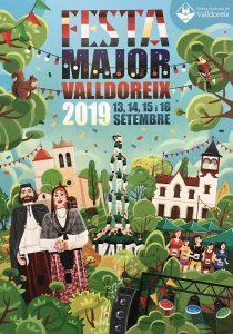 Exposició de les obres presentades al Concurs de Cartells de Festa Major @ Biblioaccés Vall d'Or