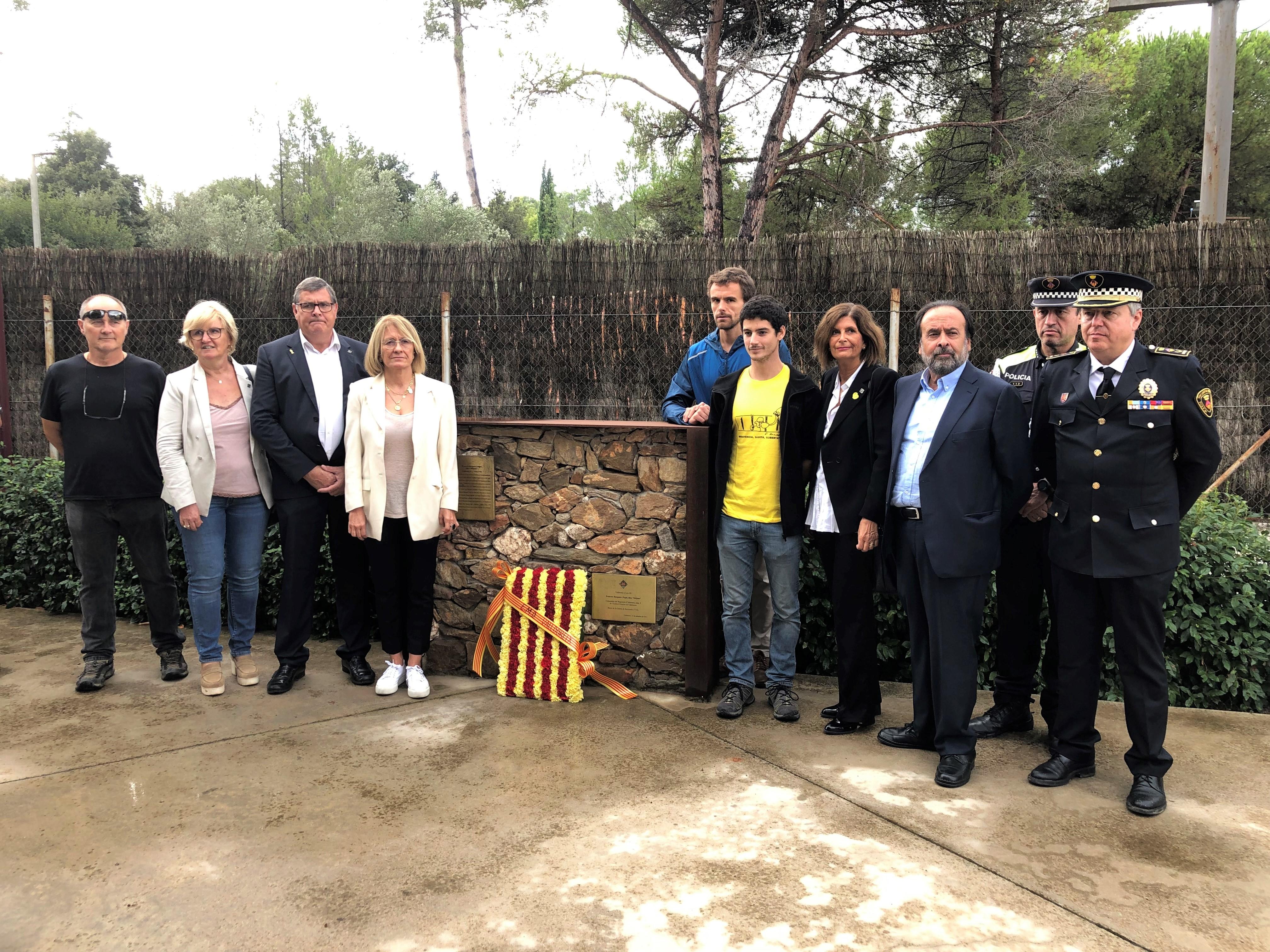 Josep Puig apel·la a 'mantenir l'esperit del 1714 per lluitar contra el setges moderns' durant els actes de la Diada a Valldoreix