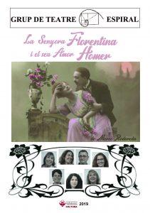 """Mostra de Teatre Valldoreix 2019 """"La senyora Florentina i el seu amor Homer"""" @ Nau de Cultura"""