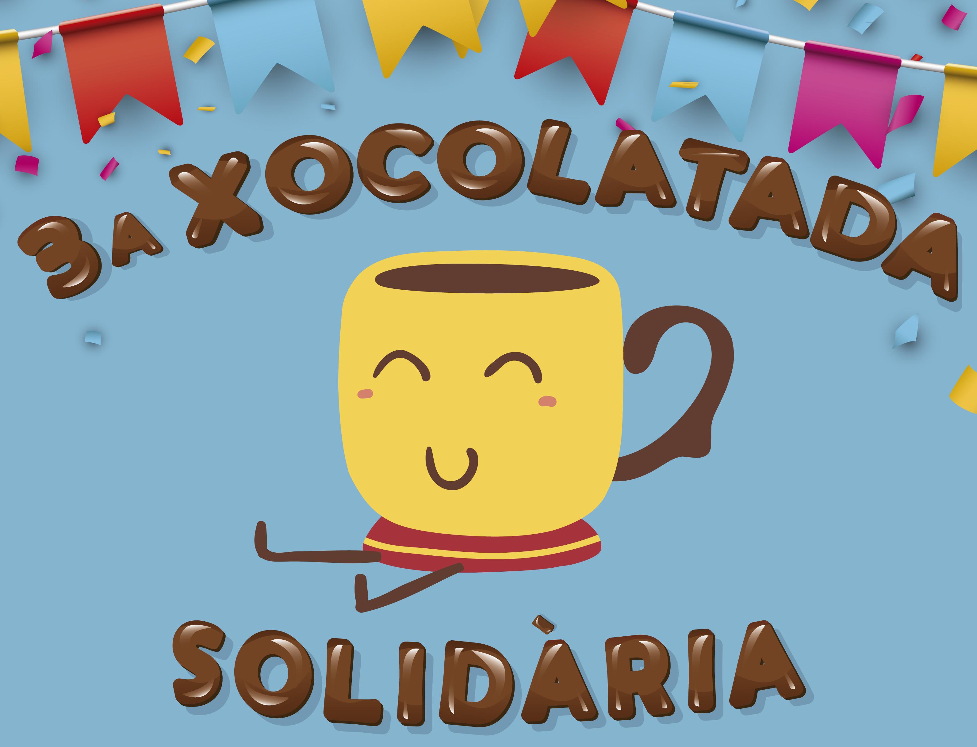 La 3a edició de la Xocolatada Solidària contra el càncer infantil serà el 21 de febrer al Ferran i Clua i a l'Escola Bressol