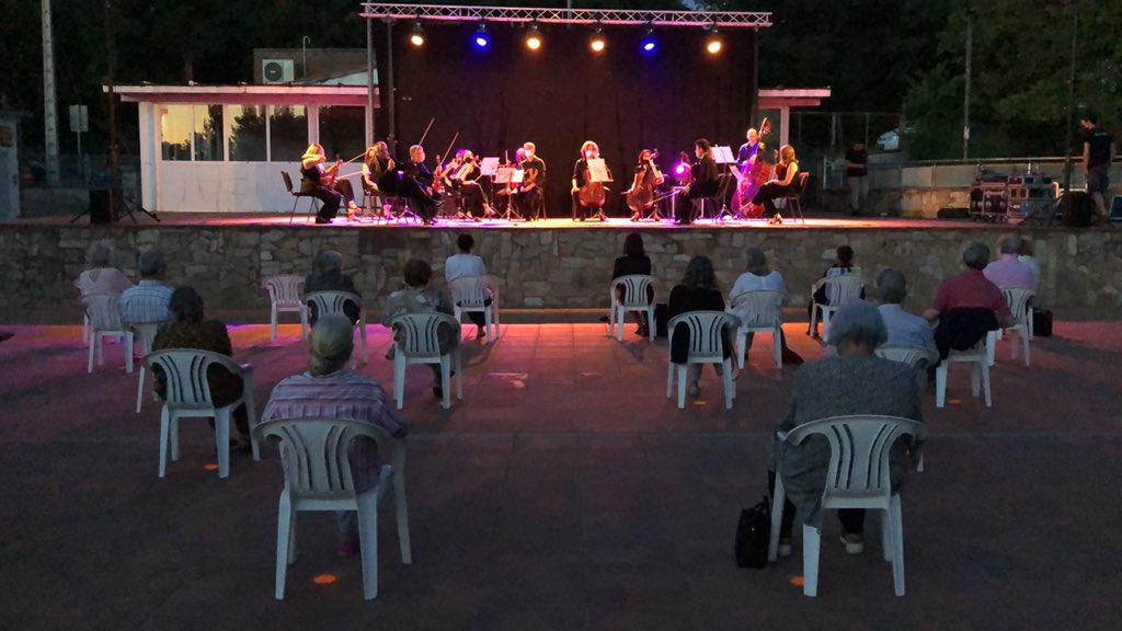 El Cinema a la Fresca i els Concerts d'Estiu desconfinen la cultura a Valldoreix