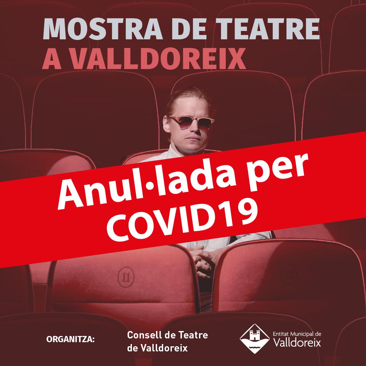 La segona onada de la Covid-19 provoca l'anul·lació de la Mostra de Teatre a Valldoreix 2020