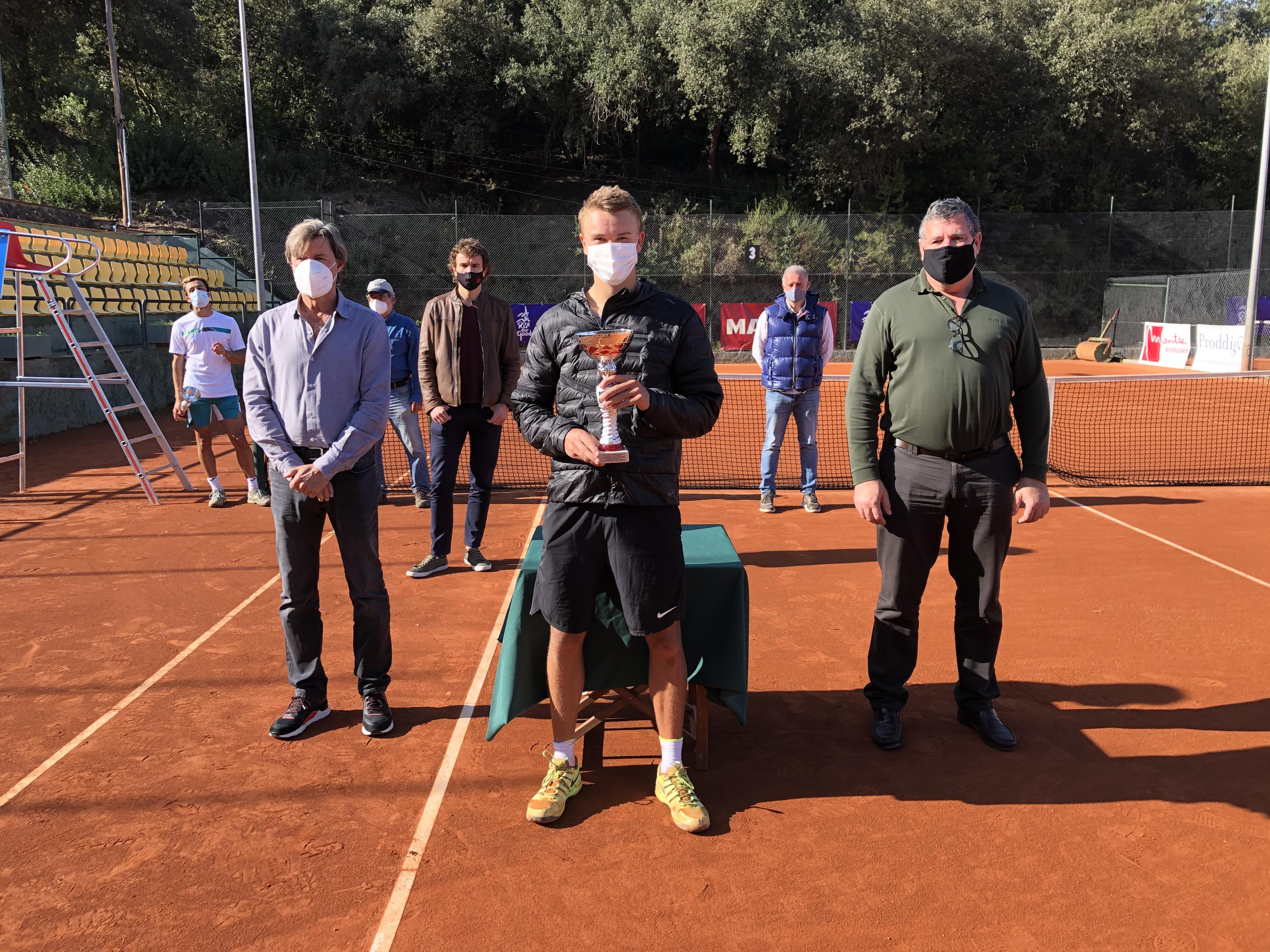 Holger Rune, nou campió del Torneig Internacional Vila de Valldoreix de tennis