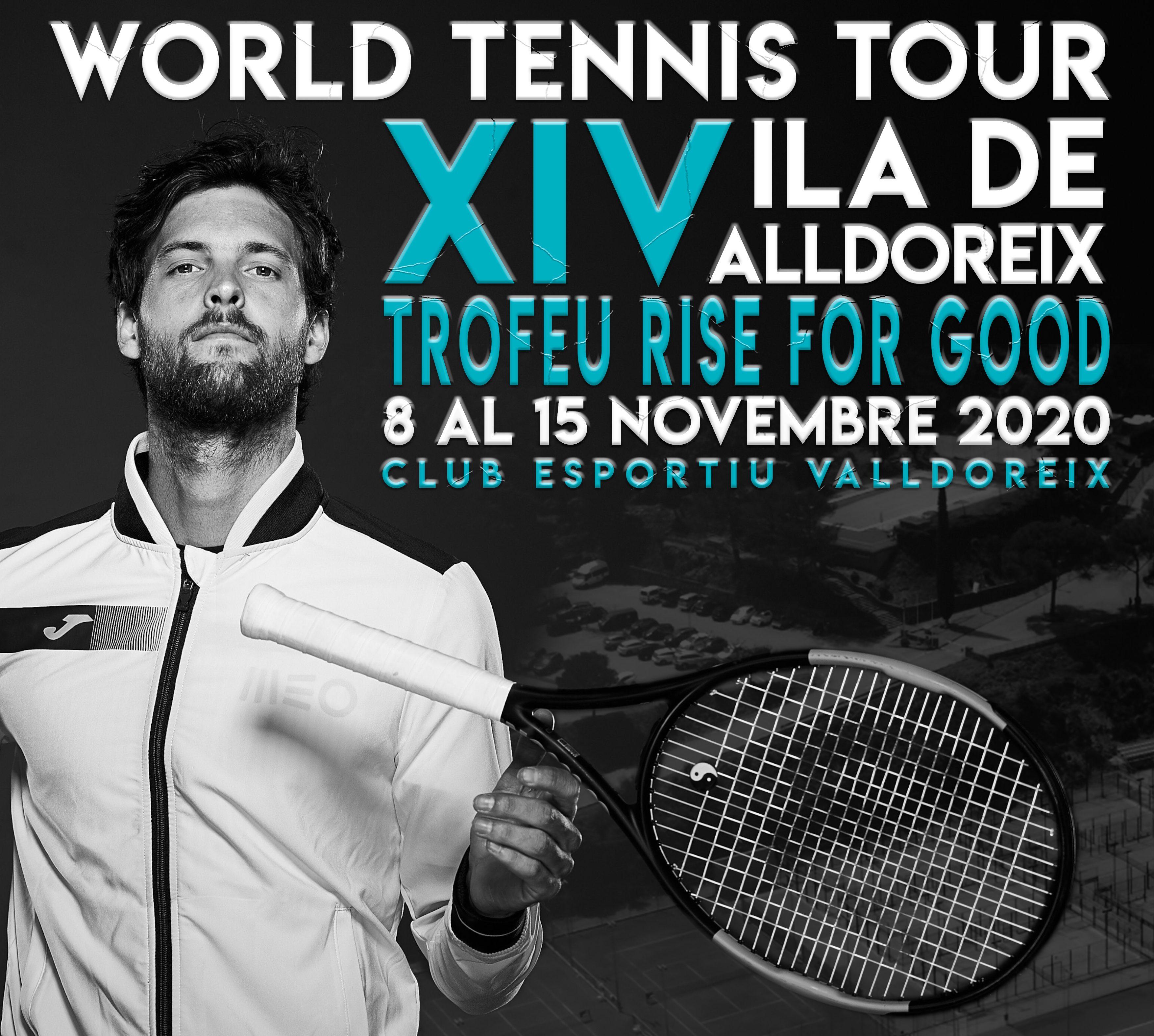El torneig Vila de Valldoreix-Rise for Good de tennis tindrà nou campió aquest diumenge